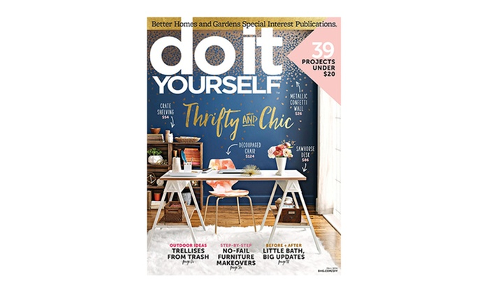 Do it yourself magazine groupon goods 1 year 4 issue subscription to do it yourself magazine solutioingenieria Gallery