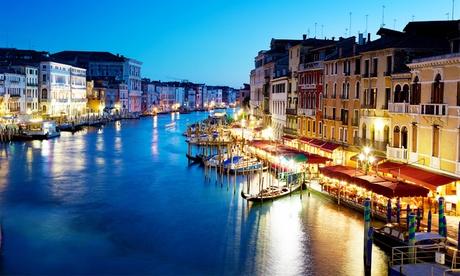 Venecia: estancia para 2 con desayuno, bebida de bienvenida y entrada a Venecia o Ca Noghera Casinò en Hotel Antico Moro