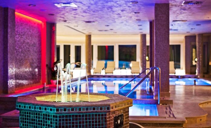 Fiuggi: fino a 3 notti per 2 persone con colazione, centro benessere e Spa al'Hotel Villa Ebe