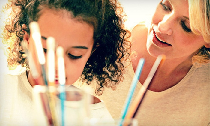 Living Art Studio - Fremont: Four-Week Art Class for Kids Aged 4–7 or 8 and Older at Living Art Studio (Up to 70% Off)