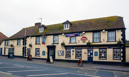 Kent: 1 or 2 Nights for Two with Breakfast at Ship Hotel New Romney