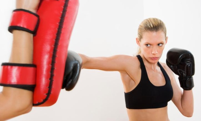 Dan Huber Training - Mesa: Five Boxing or Kickboxing Classes at Spartan Nation Combatives and Fitness (61% Off)