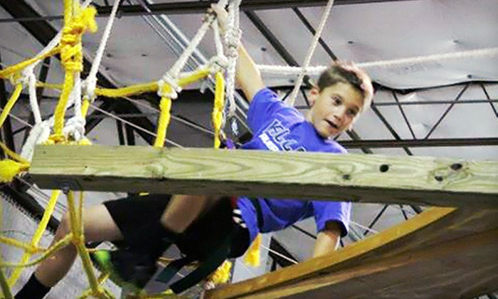 Group Dynamix - Southwest Carrollton: Admission to Adventure Sundays for Two, Four, or Six at Group Dynamix in Carrollton (Up to 58% Off)