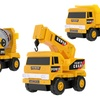 MOTA Mini Construction Toy Trucks