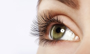 AfterGlow: Full Set of Eyelash Extensions at AfterGlow (45% Off)