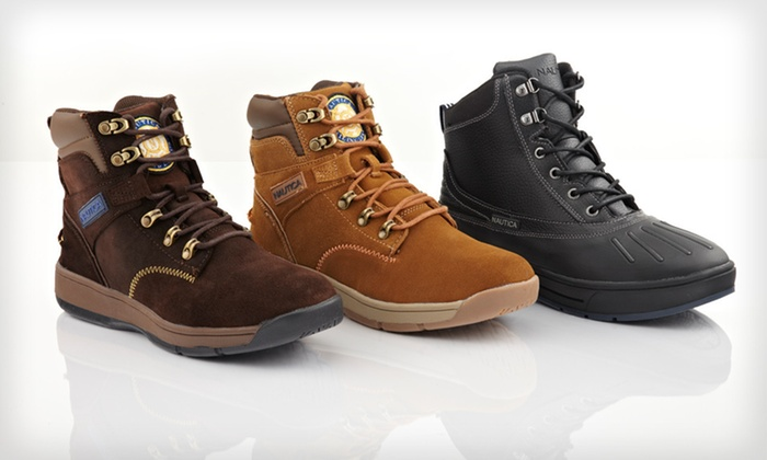 Nautica Men's All-Weather Boots: $39 for Nautica Men's All-Weather Boots (Up to $80 List Price). Multiple Options Available. Free Shipping and Returns.