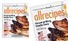 All Recipes Magazine: Allrecipes Magazine; 2-Year Print or Digital Subscription