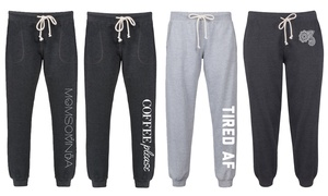 Women's Fashion Graphic Joggers