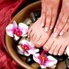 Up to Half Off Gelish Manicure with Optional Pedicure