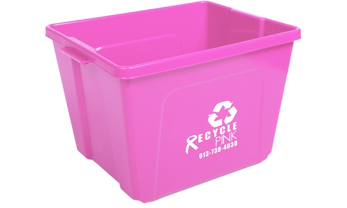 Recycle Pink KC - Fairview Park: $20 for Three Months of Glass and Electronics Recycling Collection from Recycle Pink KC ($40 Value)