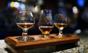 The Bourbon Barrel: Bourbon or Wine Tasting with Optional Mechanical-Bull Ride for Two or Four at The Bourbon Barrel (Up to 63% Off)
