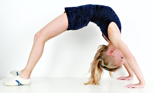 GYMagine Gymnastics: Four Weeks of Gymnastics Classes at GYMagine Gymnastics (Up to 53% Off). Three Options Available.