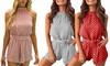 Women's Polka Dot Jumpsuit
