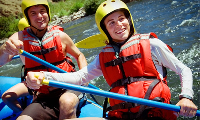 Oregon River Excursions - Springfield: $45 for a Full-Day Whitewater-Rafting Trip on the McKenzie River with Lunch from Oregon River Excursions ($90 Value)