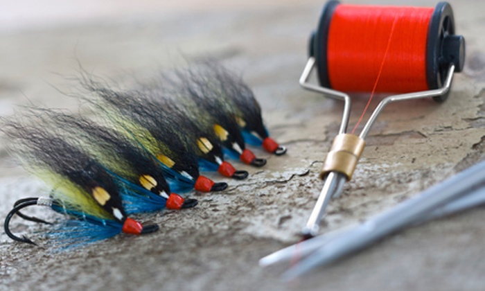 Colorado Skies Outfitters - Parker: Group or Individual Fly-Tying Lesson or Both at Colorado Skies Outfitters (Up to 61% Off)