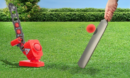 $39 for a Kids' Automatic Cricket Ball Pitcher (Don't Pay $69)