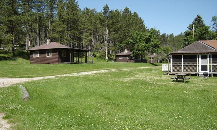 Horse Creek Resort at Sheridan Lake - West Pennington: Lodging or Camping at Horse Creek Resort at Sheridan Lake (Up to 54% Off). Three Options Available.