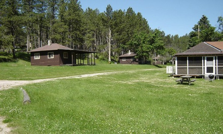 Groupon Deal: Lodging or Camping at Horse Creek Resort at Sheridan Lake (Up to 54% Off). Three Options Available.