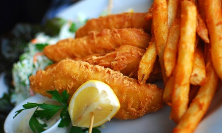Fried Fish, Chicken, and Sandwiches for Two or Four at City Fish and More (Up to 47% Off)