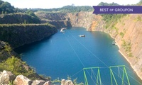 700m Zip Slide Ride for One or Two at the National Diving and Activity Centre (50% Off)