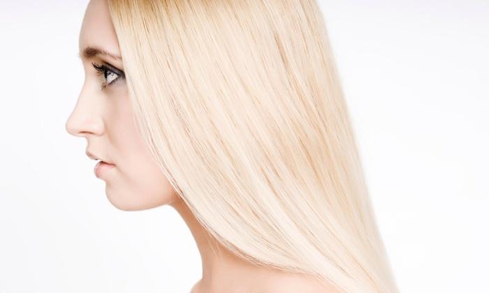Izabel George Hair Salon - Botanica: Keratin Straightening Treatment from Izabel George Hair Salon (56% Off)
