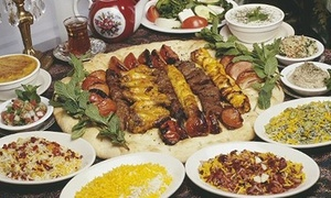 Alborz: $10 for $20 Worth of Persian Dinner Cuisine at Alborz Persian Cuisine