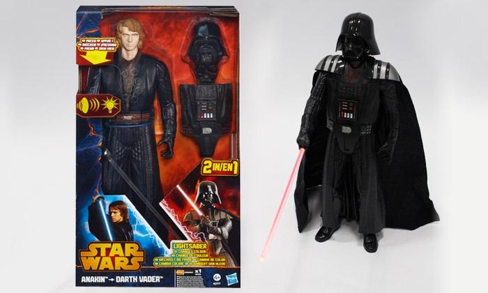 figurine 30 cm anakin skywalker dark vador r pliques de star wars groupon. Black Bedroom Furniture Sets. Home Design Ideas