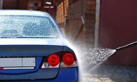 Full Exterior Wash with Hand Wax or Full Detail with Polymer Wax at Pro Wash Auto Spa (Up to 58% Off)