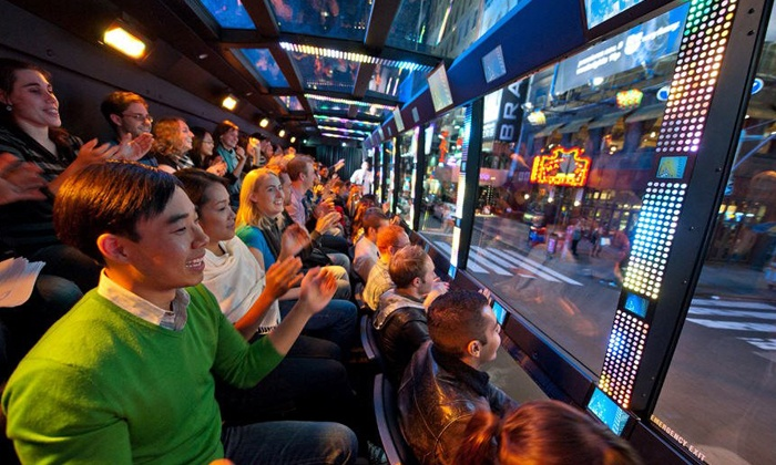 "The Ride - The Ride: $52 for an Interactive Entertainment Experience on ""The Ride"" ($74 Value)"