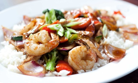 $17 for $30 Worth of Asian Cuisine and Drinks at House of Wong