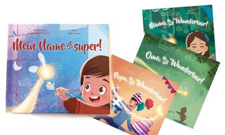 1x, 2x, 3x, 5x oder 10x Personalisierbares Kinderbuch mit 5 verschiedenen Titeln (bis zu 72% sparen)