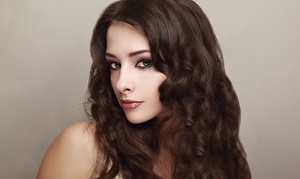 Hair By Liz: Haircut and Blow Wave with Color, Partial Foil, or Full Foil at Hair By Liz (Up to 51% Off)