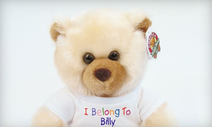 Chelsea Teddy Bear Company - Chelsea: $10 for Stuff-Your-Own Bear with Custom-Imprinted T-shirt at Chelsea Teddy Bear Company ($21.95 Value)