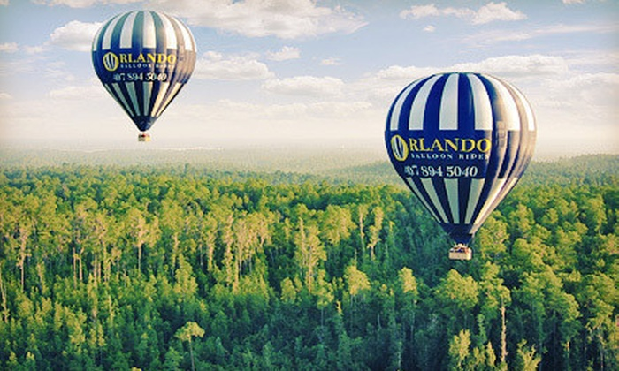 Orlando Balloon Rides - Kissimmee: Hot Air Balloon Ride for One Child or Adult from Orlando Balloon Rides in Kissimmee (Up to 55% Off)