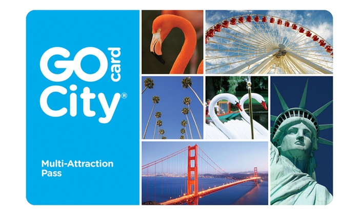 Go City Cards: Two-Day All-Inclusive Go City Card Including Free Admission to Dozens of Popular Attractions