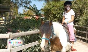 Kid's Island: Entrée enfant ou adulte pour la ferme pédagogique et récréative Kid's Island dès 7,70 €
