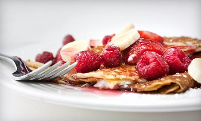 Cafe Mambo - Westhampton Beach: Coffee and Crepe Meal for Two or $10 for $20 Worth of Coffee, Crepes, and Sandwiches at Cafe Mambo