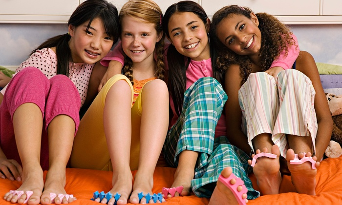 Fairytale Soiree - Smithtown: $129 for a Pamper Me Spa Day with a Facial and Mani-Pedi for Four Girls at Fairytale Soiree ($280 Value)