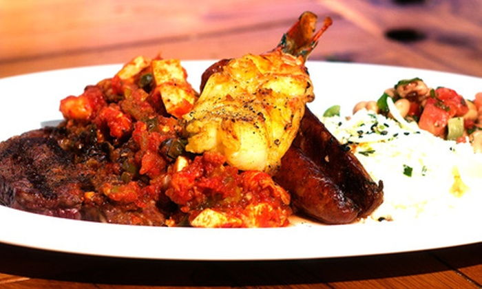 Nica's Lagniappe - Crossroads : Cajun Food and Drinks atNica's Lagniappe(Half Off). Two Options Available.