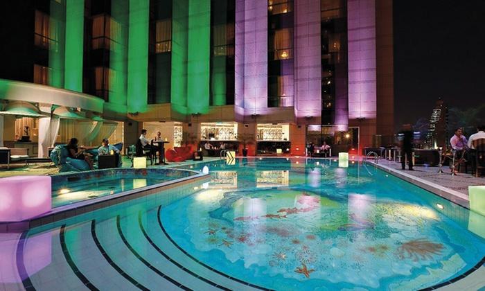 Massage at the spa at fairmont dubai the spa at fairmont for Pool and spa show dubai