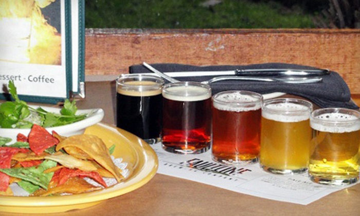 Faultline Brewing - Sunnyvale: $12 for Two Flights of Five Beers and One Appetizer at Faultline Brewing Company (Up to $23.45 Value)