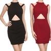 Women's Cutout Holiday Dress