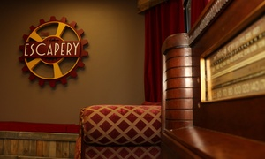 The Escapery: Escape-Room Experience for Two, Four, or Up to Seven at The Escapery (Up to 46% Off)