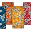 "4-Pack of 100% Cotton 30""x60"" Hibiscus Beach Towels"
