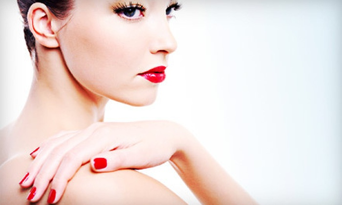 21st Century Nails - Beachwood: One or Two Shellac Manicures at 21st Century Nails (Up to 55% Off)