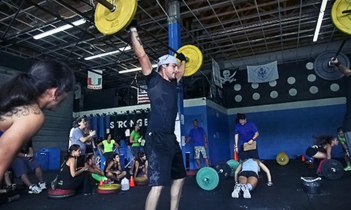 CrossFit Kingdom - Kendall: One, Two, or Three Months of Unlimited CrossFit Classes at CrossFit Kingdom (Up to 89% Off)