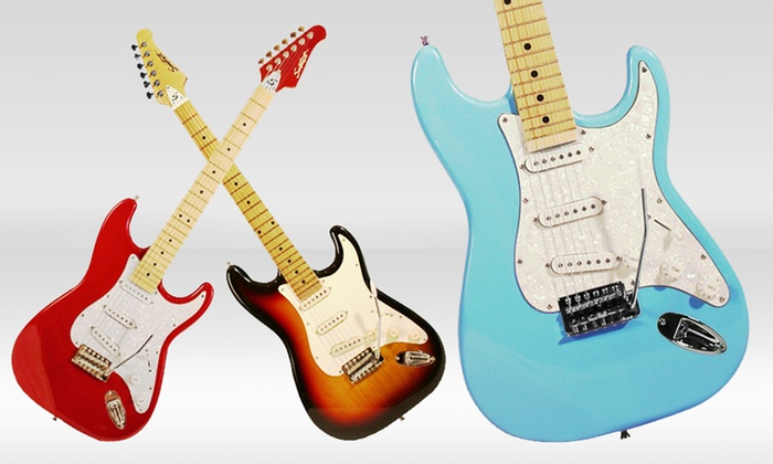 Sawtooth Electric Guitar: Sawtooth Electric Guitar. Multiple Styles Available. Free Returns.
