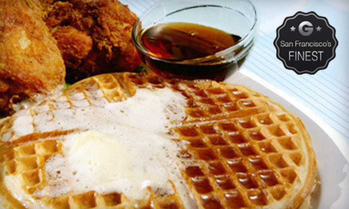 Home of Chicken and Waffles - Multiple Locations: Comfort Food at Home of Chicken and Waffles (Half Off). Two Options Available.