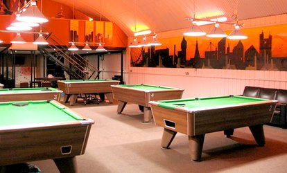 Two-Hour of Pool, Beer and Silver Membership for Two at Spots & Stripes (Up to 70% Off)