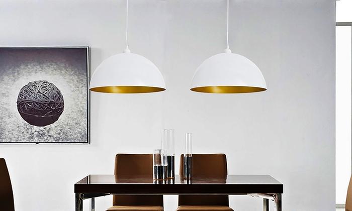 2 moderne deckenlampen groupon goods. Black Bedroom Furniture Sets. Home Design Ideas